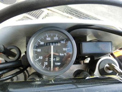 RMX250S メーター