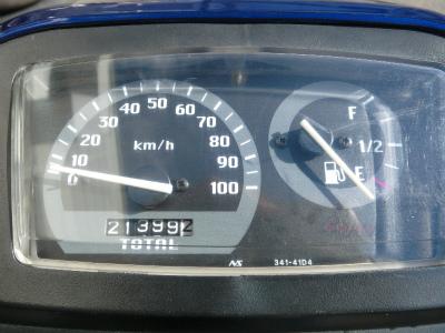 アドレスV100 メーター