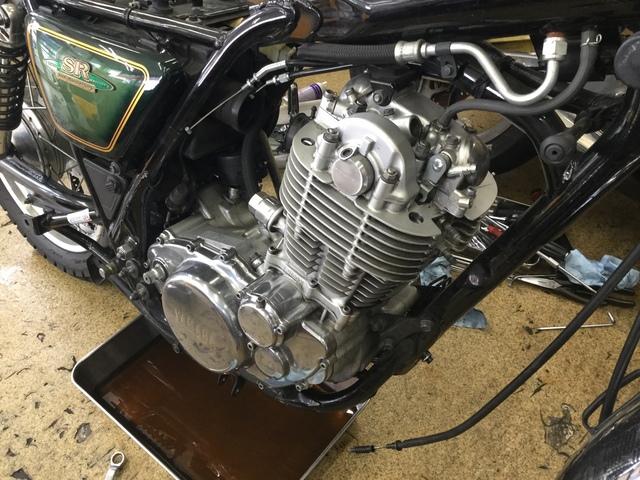 D308D709-5F6B-4BBC-87F4-909BBF067341.jpeg  SRエンジン載せ替え