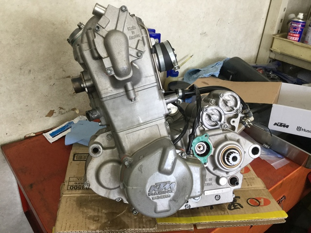 DAAD5B1B-4294-453F-94B1-0942C5391D5A.jpeg  450SMRエンジン完成