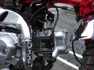 モンキー インジェクションエンジン