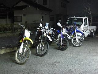 2009.10.24 林道ナイトラン