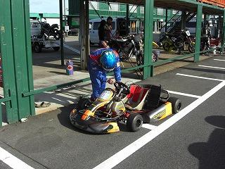 2010年3月 定例琵琶湖スポーツランド カート走行