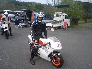 2010年10月17日 レインボーカートコース NSR100R