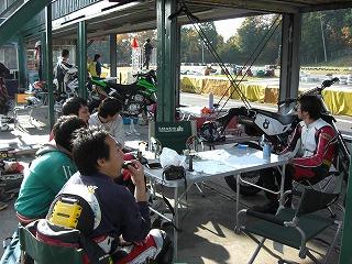 2010年11月28日 琵琶湖スポーツランドモタード2耐 1