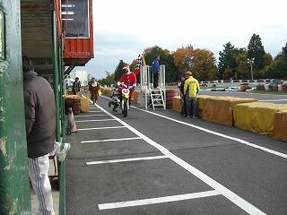 2010年11月28日 琵琶湖スポーツランド ライダー交代