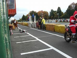 2010年11月28日 琵琶湖スポーツランド ライダー交代 2