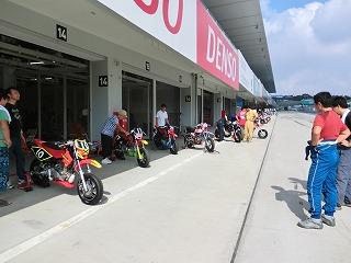 2011年 鈴鹿Mini-Moto4時間耐久 1