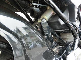 ホンダ NS50R サスペンション