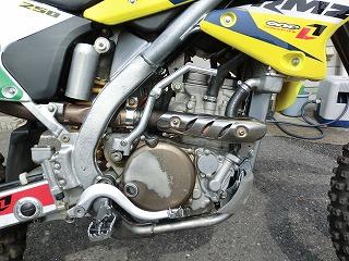 スズキ RM-Z250 エンジン