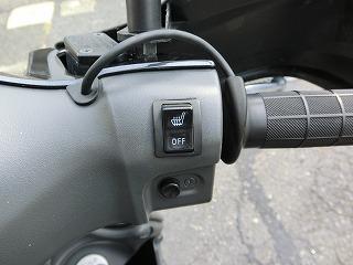 アドレスV125G リミテッド シートヒーター