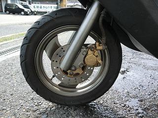ヤマハ JOG-EX ブレーキ