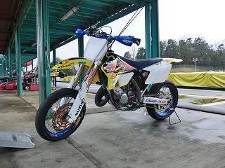 2012年4月琵琶湖スポーツランド定例 RM125