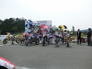 2012 MOTO-1 PROクラス 表彰式 2