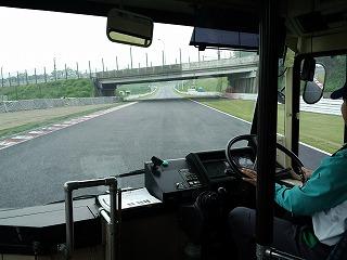 2012年5月9日 ニミモト練習走行 バス 立体交差