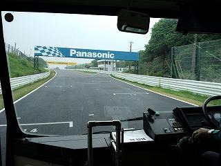 2012年5月9日 ニミモト練習走行 バス バックストレート