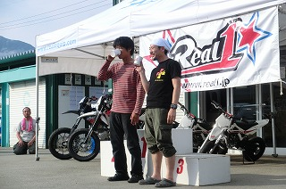 2012年6月17日 125ccクラス表彰式