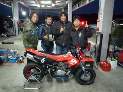 2012/12/02 チームメイト